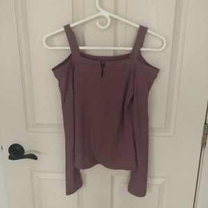 Seriously soft aero off the shoulder top